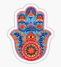 Hamsa Hand Watercolor Sticker