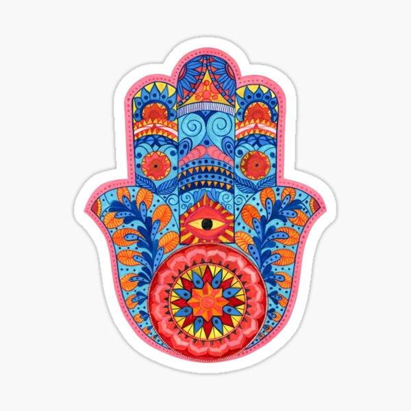 Hamsa Hand Watercolor Sticker