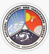 National Astronomy and Ionosphere Center (NAIC) Logo Sticker