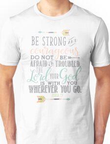 Joshua 1:9 Bible Verse Unisex T-Shirt