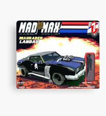 Mad Max Meets G.I. Joe Canvas Print