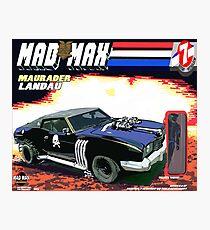 Mad Max Meets G.I. Joe Photographic Print