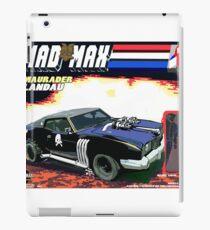 Mad Max Meets G.I. Joe iPad Case/Skin
