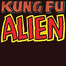 kung fu alien by Megatrip