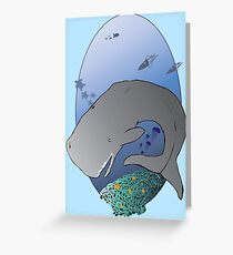 WHALE! Greeting Card