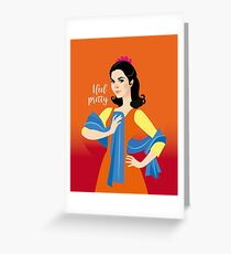 Pretty Maria Greeting Card