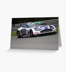 Howard and Adam - Beechdean Aston Martin Greeting Card