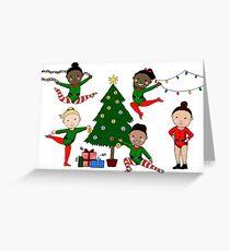 Final Five Christmas Greeting Card