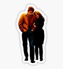 Freewheelin' Bob Dylan Zimmerman Sticker