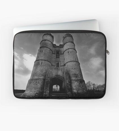 The Gate House - Donnington Castle Laptop Sleeve