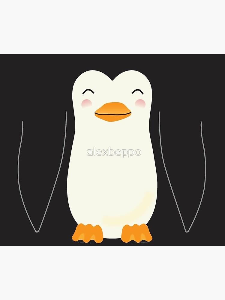 Percy the Penguin - Travel Mug by alexbeppo