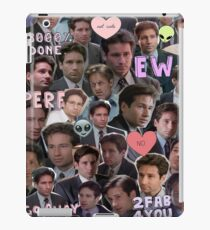 ew fox mulder iPad Case/Skin