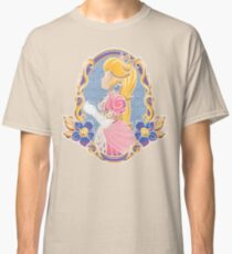 Stained-Glass Peach Classic T-Shirt