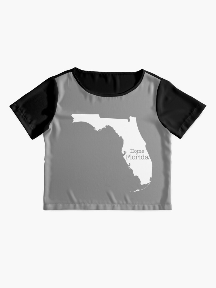 Alternate view of Home is Florida Chiffon Top