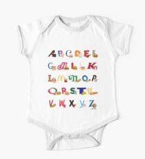 Fast Food Alphabet Kids Clothes