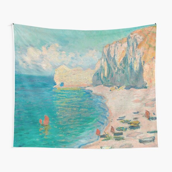 The Beach and the Falaise d'Amont Tapestry
