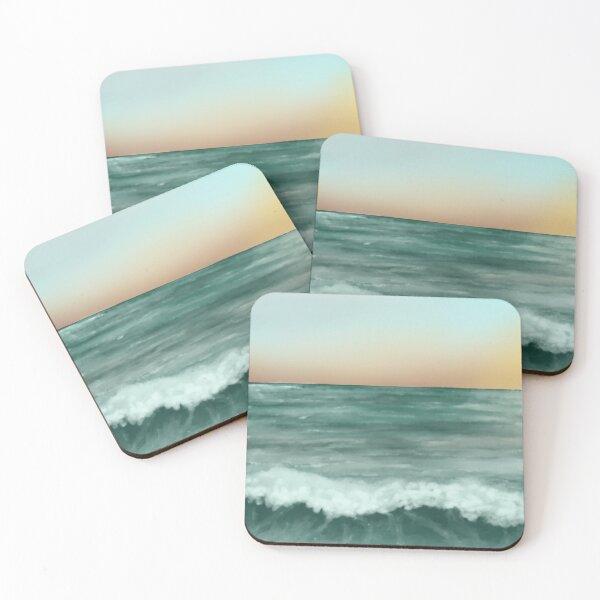 Sunset Beach Coasters (Set of 4)