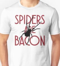 Spiders Are Bacon Unisex T-Shirt