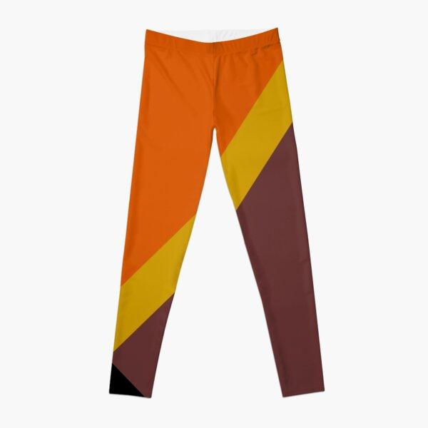 Autumn Colored Design Leggings