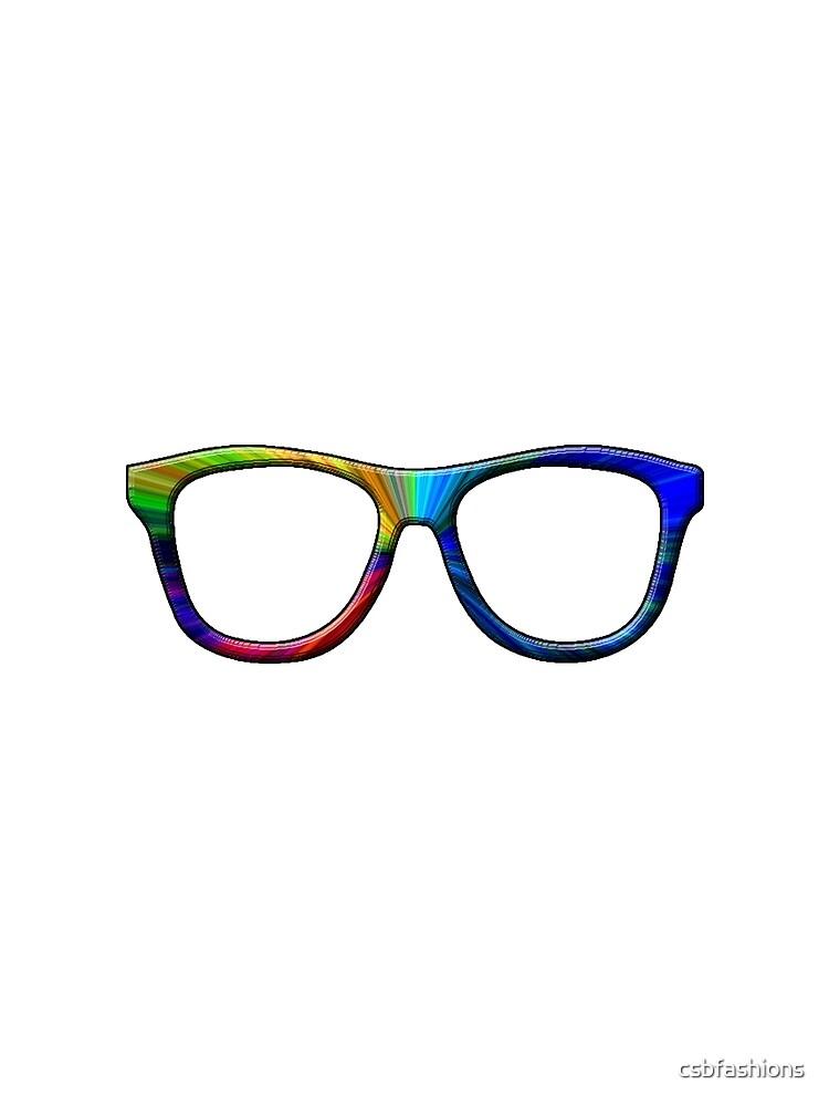 Rainbow Glasses by csbfashions