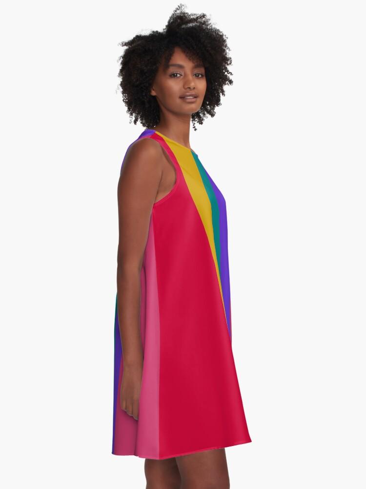Alternate view of Spring Colors Design A-Line Dress