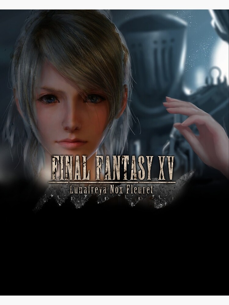 Final Fantasy Xv Lunafreya Greeting Card By Noctislc Redbubble