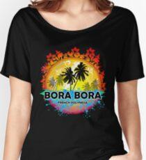 Bora Bora Sunset Style Women's Relaxed Fit T-Shirt