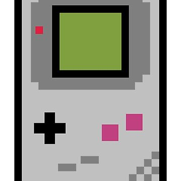 8 bit gameboy by PlatinumBastard