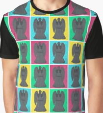 Weeping Angels Pop Art Graphic T-Shirt