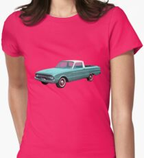2nd Generation Falcon Ranchero 1960 Womens Fitted T-Shirt