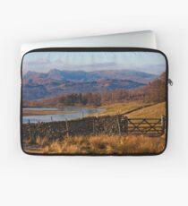 Wise Een tarn and the Langdale Pikes Laptop Sleeve