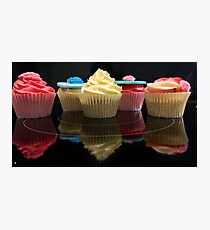 Once upon a cupcake Photographic Print