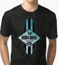 Bora Bora Longboards Tri-blend T-Shirt