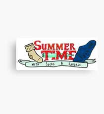 Summer Time - Adventure time parody  Canvas Print