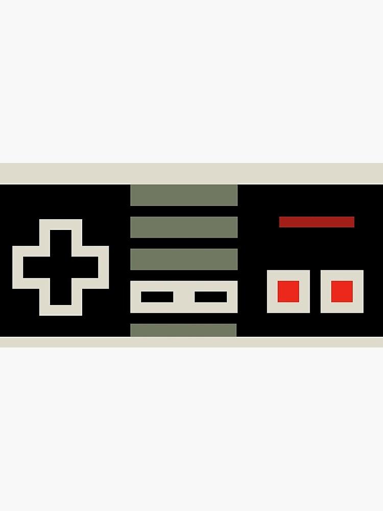 8 bit Nes Controller | Photographic Print