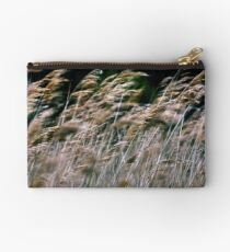 Reeds At Salthouse Marsh Studio Pouch