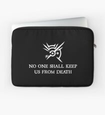 Dishonored - No one shall keep us from death Laptop Sleeve