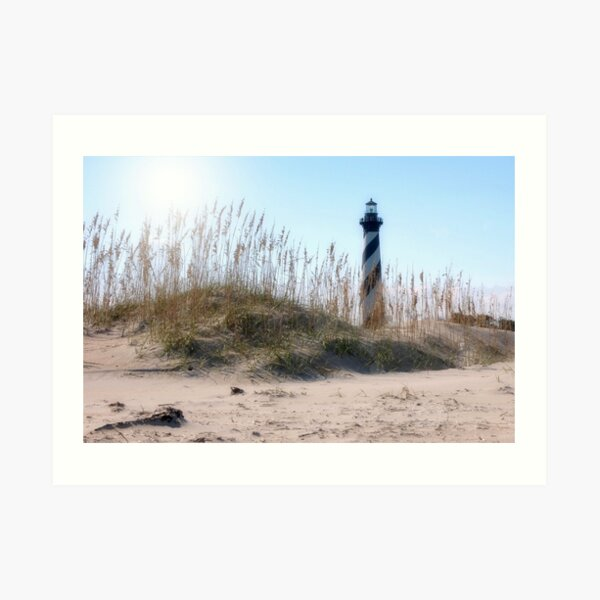 Cape Hatteras Lighthouse of NC Art Print