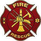 Firefighter Diamond Plate Design by EthosWear