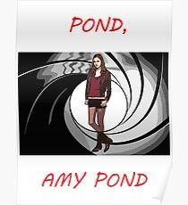 Pond, Amy Pond Poster