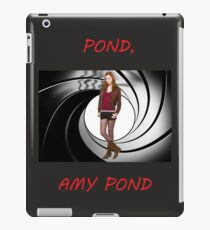 Pond, Amy Pond iPad Case/Skin