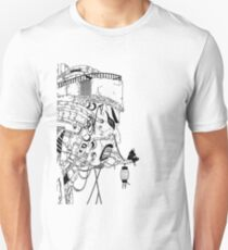 Japanese Mask House Unisex T-Shirt