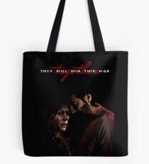 They Will Win This War Together Tote Bag