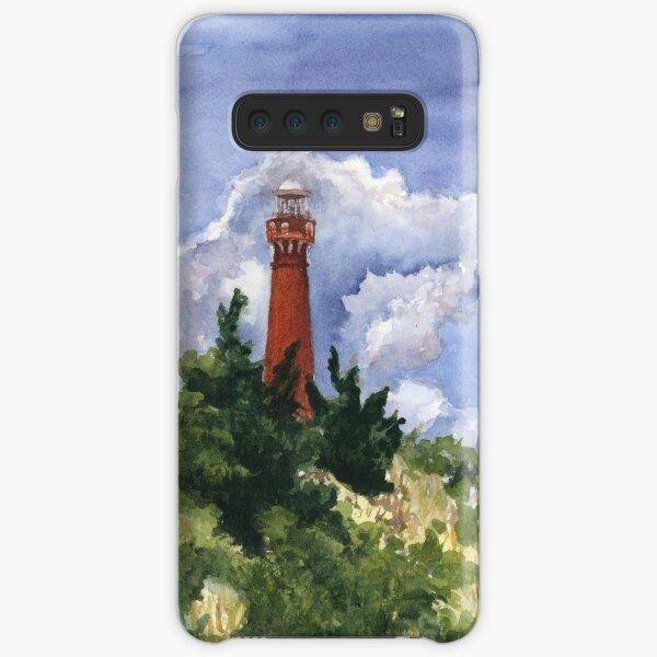 Barnegat Light in Watercolor Samsung Galaxy Snap Case