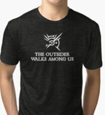 Dishonored - The Outsider walks among us Tri-blend T-Shirt