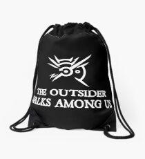 Dishonored - The Outsider walks among us Drawstring Bag