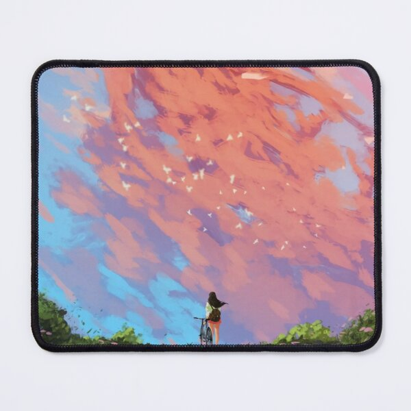 Missing Away Childhood Mouse Pad