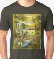 Margaritaville Poster Lyrics by Jimmy Buffett Unisex T-Shirt