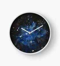 Iris Nebula (NGC 7023) Watercolor Interpretation Clock