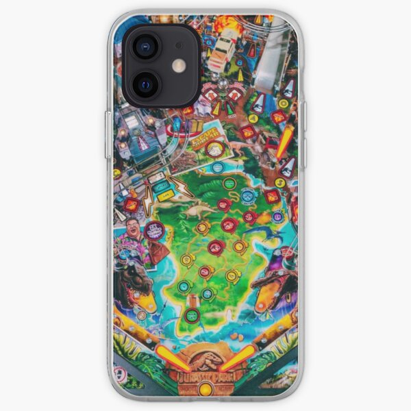 70's pinball machine iPhone Soft Case